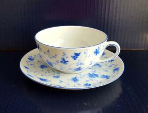 Porzellan  Arzberg Form 1382 Blaublüte Teetasse  Kaffeetasse mit Untertasse