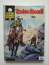 RE 1981 (très bel état) L'histoire en bandes dessinées 9 & 10 (Baden Powell 1&2)