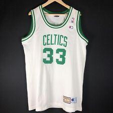 Neu Champion HWC Larry Bird Authentic Celtics Trikot Gr XL NBA Basketball Jersey