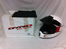 Rare Mens Large DYNO GT RACING HELMET Mid School BMX Old Bicycle Bike Full Face