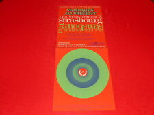 [JEAN-JACK MARTIN Col. J. LE BOURHIS] PERCUSSIONS DE STRASBOURG ANGERS 1973 AMCA