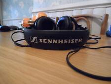 Sennheiser Earcup Around Ear Earphones Black HD201