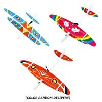 USB Charger Electric Glider Airplane Toy DIY Aircraft Kids Baby Educational Gift