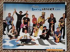 2001 Fender Bass Guitar 50th Anniv. Booklet/Catalog Case Candy Memorabilia
