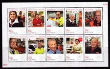 2009 Australia Decimal Stamps - Australia Post Everyday People - MNH Minisheet
