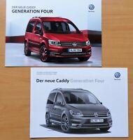 1947) VW Caddy Four Prospekt 2015 + Preisliste Technische Daten 2016 brochure