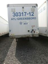 "New Listing2006 Lufkin Semi Trailer 53 'x 96"" No Reserve 30317-12 Dry Van # 5306040 St In"