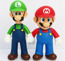 Free shipping 2pcs/set Super Mario Bros red green Action Figures Toys Doll gifts