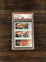 1980 Topps Larry Bird/Sikma/May PSA 9 MINT Rookie. Low pop! Vintage 🔥