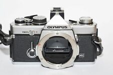 Olympus OM 2N Chrome  good condition serviced with new light seals and batteries