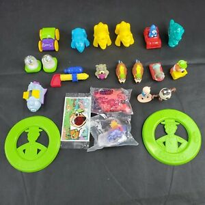Arby's Kids Meal Toy Lot of 22 Animal Transformers Yogi & Friends Pirate Looney