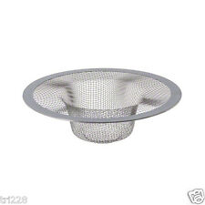 2 X Stainless Steel Sink Strainers for Kitchen Trap Mesh Sieve Esn012