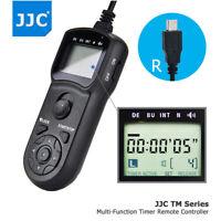JJC LCD Timer Remote Control fr Fujifilm X100T X-PRO2 X-T2 X-T1 X-T20 X-T10 XF10