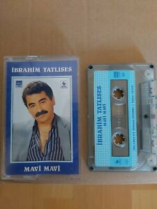 İbrahim Tatlises Mavi Mavi Kassette eski Türk müzik kaset kasetler