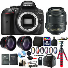 Nikon D5300 24.2 MP Digital SLR Camera + 18-55mm Lens with Deluxe Accessory Kit