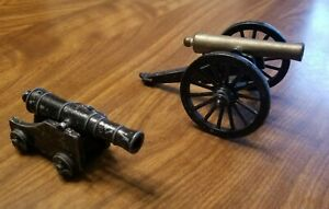 Two Penncraft Iron Replica Cannons