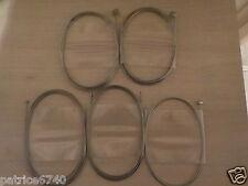 ENSEMBLE CABLES CYCLOMOTEUR PEUGEOT 101.102.103.104.GT10.GL10.