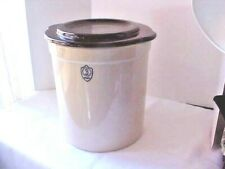 Ohio Stoneware 3 Gallon Crock Brown With Weights and Lid Pickling Fermenting