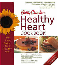 Betty Crocker Healthy Heart Cookbook (Betty Crocker Books)-ExLibrary
