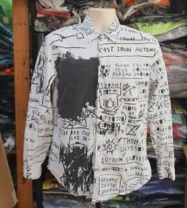 Very rare FW13 Supreme x Jean Michel Basquiat shirt size S small white