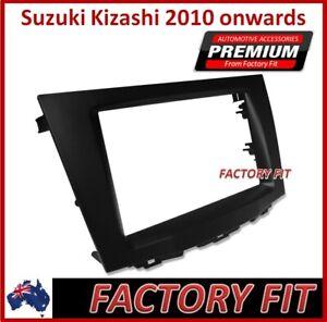 For Suzuki Kizashi Double-din Radio Fascia Surround Adapter Dash-Matched Suzuki
