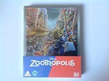 Disney Zootropolis 3D Steelbook Brand New Sealed