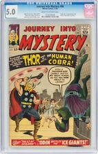 Journey Into Mystery #98 (Marvel, 1963) CGC VG/FN 5.0 Cream to off-white pages.