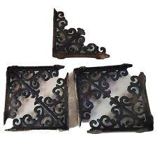 5 Vintage Shelf Brace Wall Bracket Cast Iron Brackets Corbel