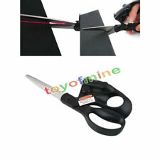 Professional Laser Guided Sewing Cut Straight Fast Fabric Paper Crafts Scissor