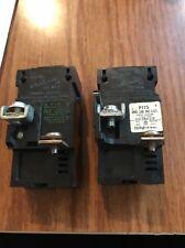 2 Bulldog Electric Ite Pushmatic Circuit Breakers 1 Pole Unit P115 120/240