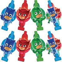 PJ MASKS BLOWOUTS PACK OF 8 PARTY SUPPLIES