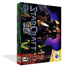 Star Craft 64 Starcraft N64 Replacement Game Case Box + Cover Art Work (No Game)
