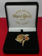More details for hard rock cafe hrc rare grand opening gran canaria rare pin in box / case