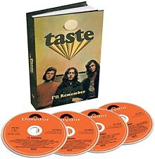 TASTE I'LL REMEMBER 4 CD BOX SET - NEW RELEASE AUGUST 2015 (RORY GALLAGHER)