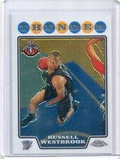 RUSSELL WESTBROOK 2008-09 TOPPS CHROME #184 ROOKIE RC THUNDERS