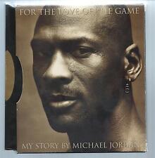 FOR THE LOVE OF THE GAME  My Story - Michael Jordan  (hc/dj) 1st Ed. Slipcase
