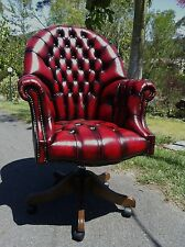 Director Leather CEO Reproduction Office Swivel Chair