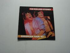 Rolling Stones - Concert Programme - 1982 Euuropean Tour