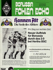 BL 82/83  Borussia Mönchengladbach - 1. FC Köln