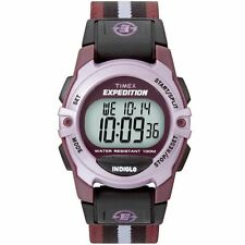 """Timex T49659, Women's """"Expedition"""" Chronograph Indiglo Watch, Alarm, T496599J"""