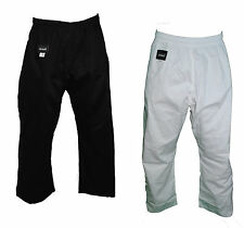 Karate, TaekwonDo,Kung-Fu,Martial Arts Kenpo Pants White or Black Thread(R)Brand