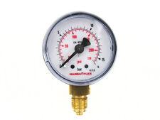 Ø 40mm Manometer 0-16 Bar Gewinde G 1/8 Zoll Hansa Flex Druckanzeige unten