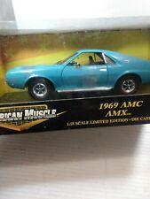 American Muscle 1969 AMC AMX 1/18 Scale