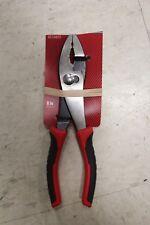 2004141 8 in. Slip Joint Pliers Red 1 pk Alloy Steel