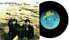 """CRY BEFORE DAWN - GONE FOREVER - RARE 7"""" 45 VINYL RECORD w PROMO PICT SLV - 1988"""