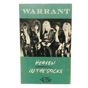 Warrant, Heaven, Vintage Cassette Tape Single