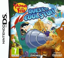 Phineas & Ferb: Quest for Cool Stuff NINTENDO DS nuovo
