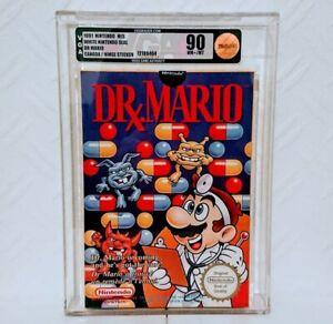 Dr Mario Nes Nintendo Sealed Graded VGA 90