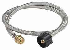 Bayou Classic 4 Foot Stainless Steel Lpg Adapter Hose
