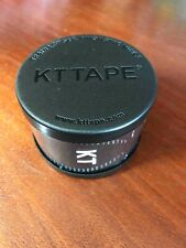 KT Tape Cotton Elastic Kinesiology Therapeutic Sports Tape Black
